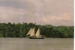 32 navigation sur Gatun