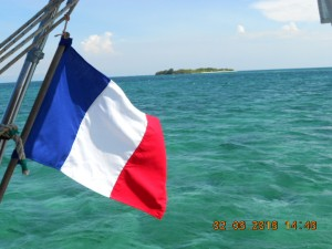 Lime cay la plus sud