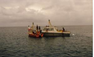 008 A le bateau océanographique